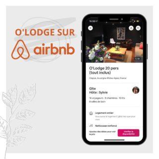 ▪ O'Lodge sur Airbnb ! ▪ . ➡️ Retrouvez-nous sur Airbnb ! . → https://abnb.me/oQJMq5xq5db . 🌿Merci pour vos nombreux avis laissés sur la plateforme ! . Vous souhaitez en savoir savoir plus, contactez-nous : . ☎ 04.77.27.14.73 📞 06.02.03.55.45 📧 contact@olodge.fr ➡ Site : http://swll.to/OLodge . #airbnb #reserver #loire #olodge #nature #feurs #forez #auvergne #rhone #alpes #tourisme #campagne #tourisme42 #tourisme69 #forez #tourismeforez